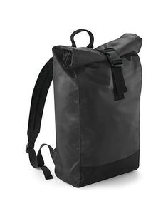 BagBase TARP ROLL TOP BACKPACK Kurier Rucksack Schule Outdoor 15 liter  schwarz  522678d2fb1