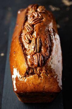 Cake au sirop d'érable et pécan