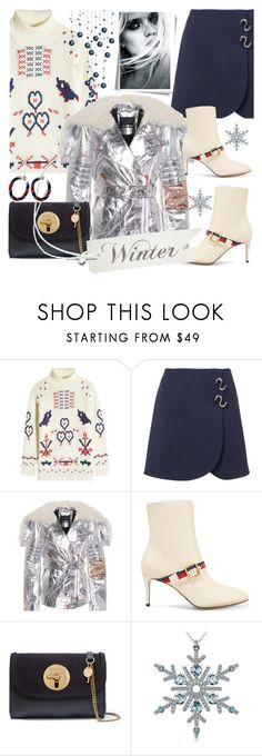 """Untitled #1012"" by pesanjsp ❤ liked on Polyvore featuring Claudia Schiffer, TIBI, Proenza Schouler, Gucci and See by Chloé"