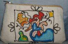 Small Zen Tangle Doodle Zippered Coin Wallet by Cuddlesandcomfort, $6.00