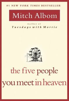 The Five People You Meet in Heaven by Mitch Albom,http://www.amazon.com/dp/1401308589/ref=cm_sw_r_pi_dp_6RGWsb0F7FVFXYVJ