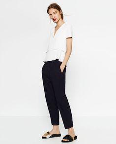Image 1 de TOP DOUBLE ÉPAISSEUR de Zara