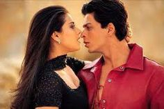 Shahrukh Khan and Kajol on screen love.. Lovely Pair of Bollywood Movies..