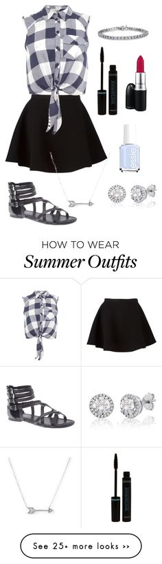 """end of summer outfit"" by lab0823 on Polyvore featuring Neil Barrett, Miss Selfridge, Lane Bryant, Adina Reyter and Essie"