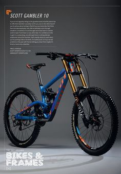 Scott Gambler 10 from 2014 Dirt Trek Mountain Bike, Hardtail Mountain Bike, Mt Bike, Cruiser Bicycle, Velo Dh, Scott Bikes, Montain Bike, Downhill Bike, Cool Bicycles