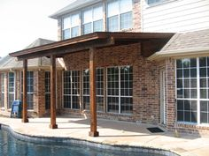 patio cover wonder if matt hart could put something simple like this on the front - Simple Patio Cover Ideas
