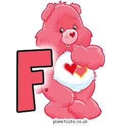 Planet Cute - Alphabet - Care Bears - Image