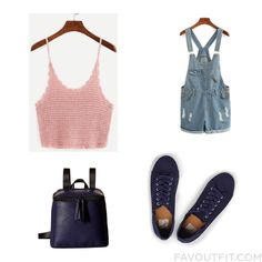Closet Tip With Top Denim Short Shorts Sneakers And Faux Leather Backpack From June 2016 Backpack Outfit, Faux Leather Backpack, Short Shorts, Denim Shorts, June, Backpacks, Sneakers, Closet, Outfits