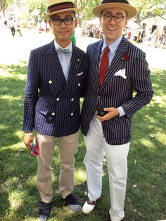 stripped blazers from jazz age lawn party at governor's island