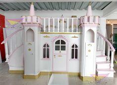 Chambre d'enfants de style par camas y literas infantiles kids world Baby Bedroom, Dream Bedroom, Girls Bedroom, Bedroom Decor, Princess Bedrooms, Princess Room, Cool Kids Bedrooms, Cool Rooms, Castle Bedroom