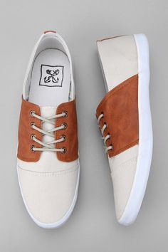 Anchor Saddle Sneaker  #UrbanOutfitters