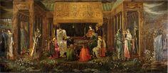 'The Last Sleep of Arthur in Avalon' - Edward Burne-Jones (c. 1881 - 1898)