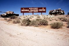 Fort Irwin, California. National Training Center http://www.irwin.army.mil/Pages/default.aspx