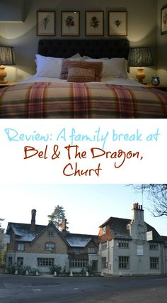 Can you have a luxury hotel mini-break with kids and come away truly relaxed? If you're staying at a Bel & The Dragon inn the answer is yes. Here's a review of a family break at Bel & The Dragon in Churt, Surrey, UK