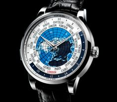 The Montblanc Heritage Spirit Orbis Terrarum World Time (With Specs And Pricing)