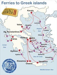 For all ferry schedules between Greek islands  mainland