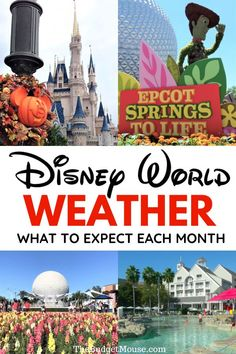 Disney World 2021 planning starts with understanding Disney World weather! What temps to expect on your Disney World vacation and help with Disney vacation planning. #disneyworld2021 #disneyworldweather