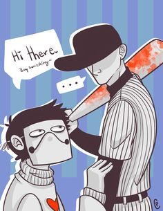 Zacharie and the Batter by Toasty-Marshmallow.deviantart.com on @DeviantArt