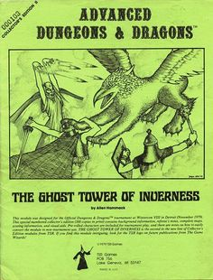 The Ghost Tower of Inverness, AD&D 1st Edition, Wintercon viii