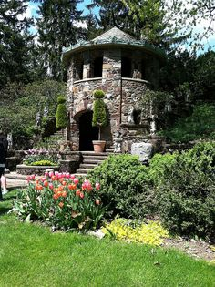 The Tea House at Greenwood Gardens - Short Hills, NJ - acres of protected land once owned by the Blanchard family next to Old Short Hills Park