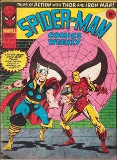 Marvel UK's Spider-Man Comics Weekly #141. #SpiderMan #MarveUK…
