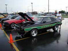 Custom Mustang Cobra at Brenengen Chevrolet car show in West Salem, WI