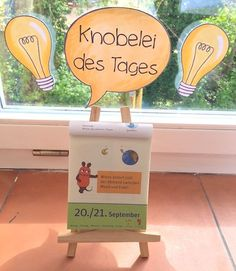 Knobelaufgabe des Tages | materialwiese