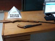 #News  Foragido da Justiça é preso com armas após agredir esposa no Norte de MG