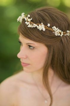 Floral crown on the lighter side