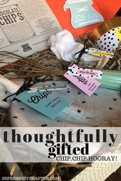 Thoughtfully Gifted - Chip Chip Hooray - gift set - curated gift box - gift ideas - cookie lover - thoughtful - gift giving - the best gift box - edible gifts - my favorite gifts - gift a story