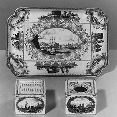 Inkwell (Part of Inkstand) Meissen Manufactory  (German, 1710–present)