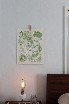 "Eat More Plants Print, 18"" x 24"""