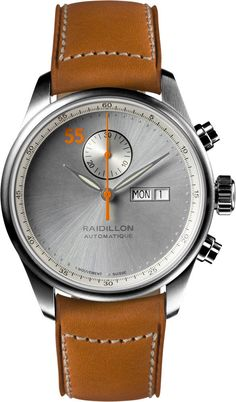 Raidillon Watch Design Chronograph Limited Edition #add-content #bezel-fixed #bracelet-strap-leather #brand-raidillon #case-material-steel #case-width-42mm #chronograph-yes #date-yes #day-yes #delivery-timescale-call-us #dial-colour-silver #gender-mens #limited-edition-yes #luxury #movement-automatic #new-product-yes #official-stockist-for-raidillon-watches #packaging-raidillon-watch-packaging #style-dress #subcat-design #supplier-model-no-42-cat-089…