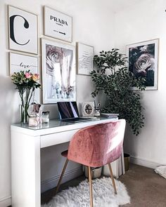 home workspace design inspirations; home office storage ideas for small spaces; home office ideas; Cozy Home Office, Home Office Design, Home Office Decor, House Design, Office Furniture, Office Designs, Modern Office Decor, Furniture Ideas, Small Office Decor