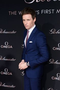 Eddie Redmayne Photos Photos: OMEGA Celebrates the Launch of the Globemaster…