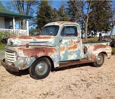 This is the truck I just bought to restore into a cool low ride chopped sled! 1951 Ford Truck, Ford Pickup Trucks, Gm Trucks, Dodge Pickup, Old Pickup, Old Classic Cars, Classic Trucks, Hot Rod Trucks, Cool Trucks