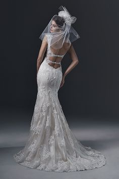 Wedding gown by Sottero and Midgley