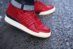 save off eb4b7 7ebc6 LDRS1354 x adidas Originals Forum Mid Adidas Basketball Shoes, Sportswear  Brand, Adidas Men,