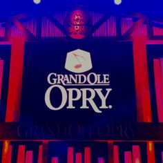 go to the grand ole opry