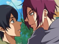 Free Rin X Haru Sharkbait Makeout Animation by Lanessa29