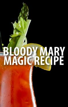 Carson Daly shared his Magic Bloody Mary Recipe on Today Show, using everything from horseradish to beef jerky. http://www.recapo.com/today-show/today-show-recaps/today-show-carson-daly-magic-bloody-mary-recipe-new-light-bulbs/