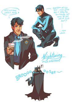 Dick Grayson. Nightwing. <3