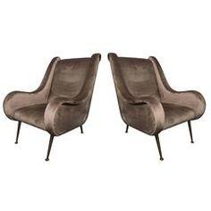 Pair of Erton Armchairs