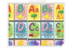 Affichage alphabet pour classe de maternelle ou C2 http://iticus.free.fr/?p=431