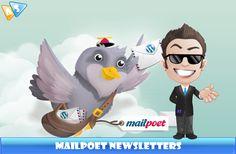 MailPoet è un plugin freemium che permette di creare e inviare le newsletter automatiche direttamente dal tuo sito web.