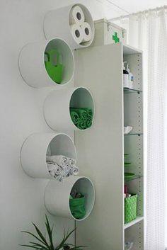 20 handige zelfmaakideetjes om te maken met PVC buizen(AANRADER)