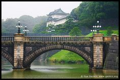 Tokyo Imperial Palace and Meganebashi Bridge, Tokyo, Kanto Region, Honshu Island, Japan by Ilya Genkin / genkin.org, via Flickr