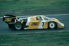 1984 - Senna, racing in Nurburgring, driving a Porsche 956, shared with Stefan Johansson and Henri Pescarolo.