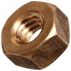 """9//16/"""" Lot of 3 ea 12 TPI Silicon Bronze Hex Nut"""
