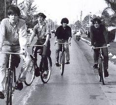 more Beatles on bikes